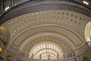 washington dc union station internal