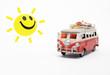 canvas print picture - Die Sonne lacht