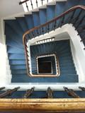 Round stair case.
