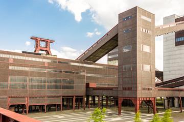 Zeche Zollverein Ruhr Museum Rückansicht