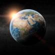 Planet Earth sunrise - 64681899