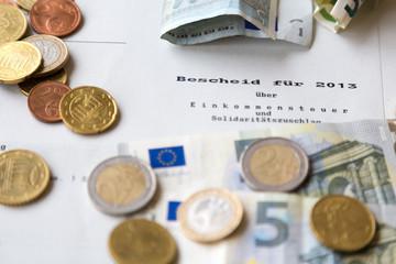 Steuerrückzahlung