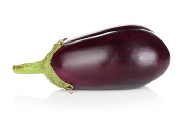 Fresh ripe eggplant