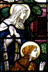 Mary Magdalene and Mary