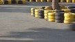 Go kart racing track