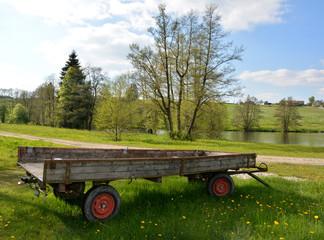Traktoranhänger im Ostallgäu