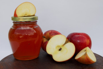 Apple jelly & Apples