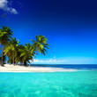 Leinwanddruck Bild - Art  beautiful seaside view  background