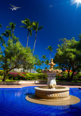 Art Luxury tropical hotel resort