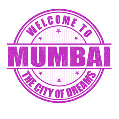 Welcome to Mumbai stamp