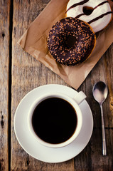 donuts and coffee
