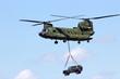 Leinwanddruck Bild - Chinook helicopter