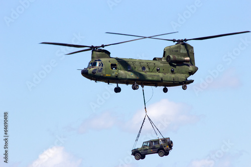 Foto op Canvas Helicopter Chinook helicopter