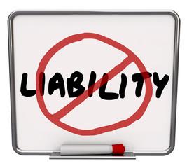 No Liability Reduce Risk Mitigation Danger Prevention