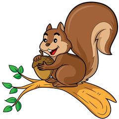 Squirrel Cartoon