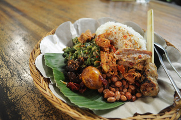 Balinese Mixed Rice