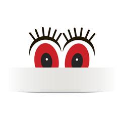 вектор баннер глаза