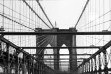 Pont de Brooklyn, New York, État de New York, États-Unis
