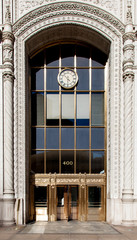 Facade of a building, Chicago, Cook County, Illinois, USA