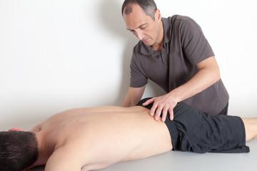 Osteopathie am Unterkörper