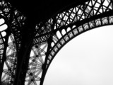 Fototapety Low angle view of Eiffel Tower, Paris, France