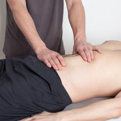 Osteopathie am Oberkörper