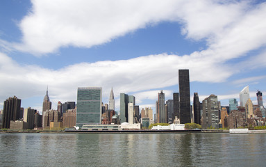 Midtown Manhattan skyline panorama