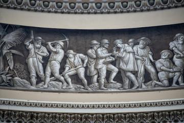 Washington capitol dome painting