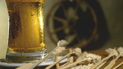 wheat and beer