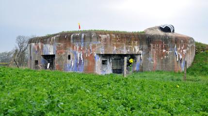 Old military bunker, Czech Republic