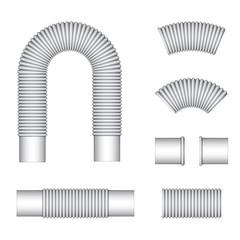 vector plumbing corrugated flexible tubes