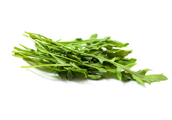 Food  ingredient -  green ruccola (arugulla)