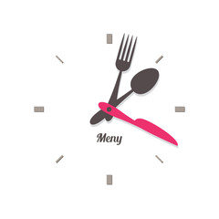 food time knife fork spoon