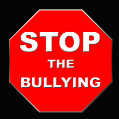 stop bullying sign