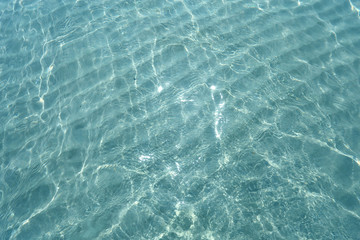 Texture of water