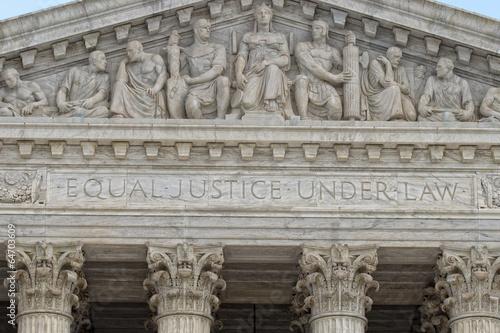Washington DC Supreme Court facade - 64703609