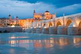 Puente Romano y Mezquita por la noche (España) - 64704286
