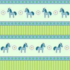 Horses seamless texture