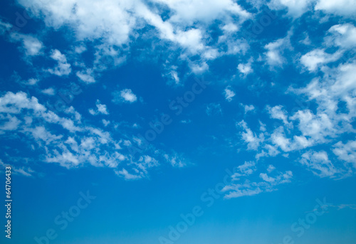 canvas print picture blue sky