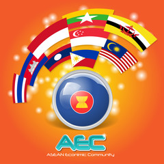 Asean Economic Community AEC concept 03