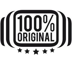 100 % Original Logo