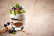Layered cream dessert - 64708889