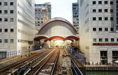Canary Wharf DLR docklands station