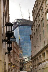 Walkie Taklie building in the City of London