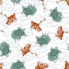 鶴と亀のパターン