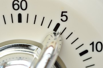 Kitchen Timer in Close up