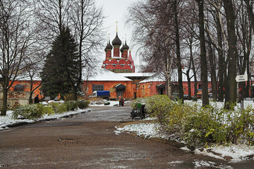 Epiphany Cathedral in Yaroslavl, Russia