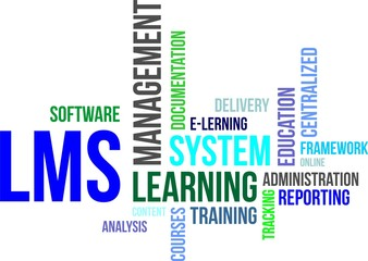 word cloud - lms