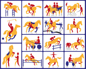 equestrian and circus