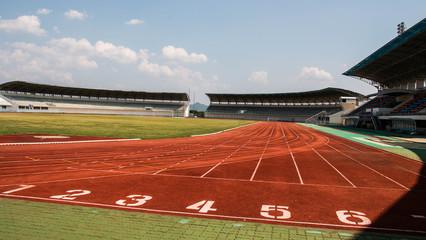 Race track sport background